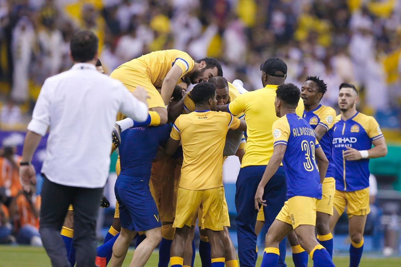 النصر بطلا للدوري السعودي بفوزه على الباطن | كووورة 365