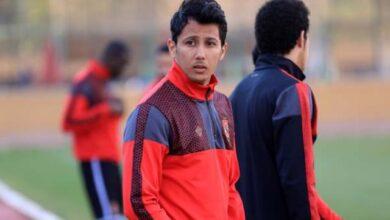 عمرو جمال مهاجم الأهلي