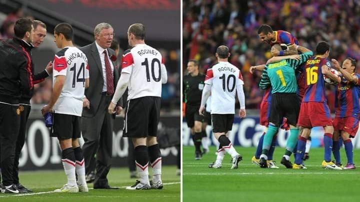 روني يتهم فيرغسون في خسارة النهائيين أمام برشلونة بدوري ...