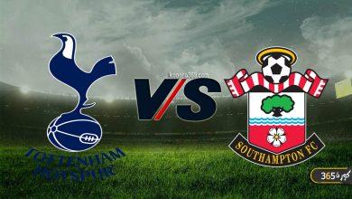 صورة موعد مباراة توتنهام وساوثهامبتون القادمة في الدوري الإنجليزي والقنوات الناقلة