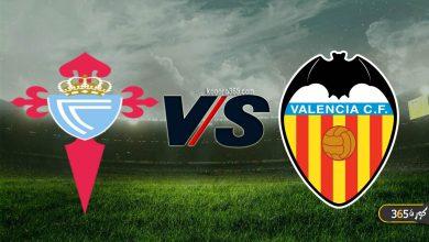 صورة موعد مباراة فالنسيا وسيلتا فيغو القادمة في الدوري الإسباني والقنوات الناقلة