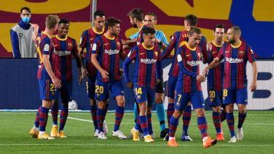 صورة برشلونة يقسو على فياريال في الشوط الأول
