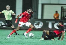 """صورة مفاجأة.. نجم الأهلي لم يعجبه هدف الشحات """"اللاعب أخطأ بعدم التمرير"""""""