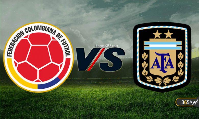 نتيجة مباراة الأرجنتين وكولومبيا اليوم في تصفيات كأس ...